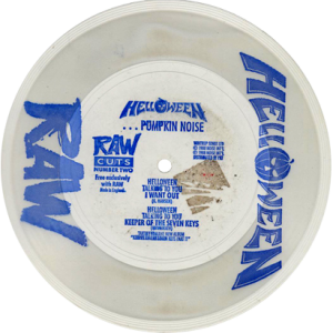 1988 – …Pumpkin Noise – Single 7″ – RAW Cuts – From RAW.