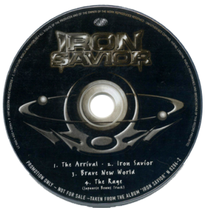 1997 – Iron Savior – Cd – Promo.