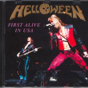 First Alive In Usa – Cd – Bootleg.