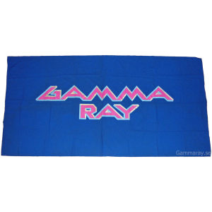 Gamma Ray Flag From The First Japan Tour 1990.