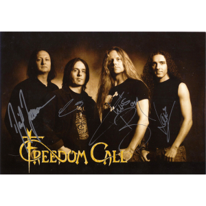 Freedom Call Promo Card – 2006.