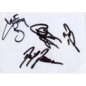 Freedom Call Autographs – 2003.