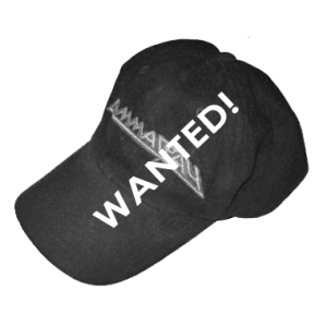 WANTED: Baseball cap.