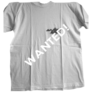WANTED: Gamma Ray Promo – T-shirt.