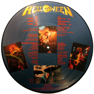 1985 – Helloween – Picture Disc.