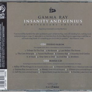 2016 – Insanity And Genius (Anniversary) – 2Cd – Russian Bootleg.