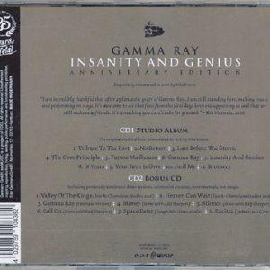 2016 – Insanity And Genius (Anniversary) – 2Cd – Russian Bootleg.