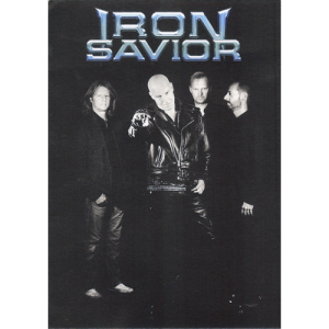 Iron Savior – Promo Card.