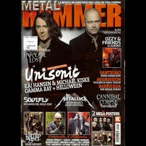 Metal Hammer Magazine – Argentina – nr293 – 2012.