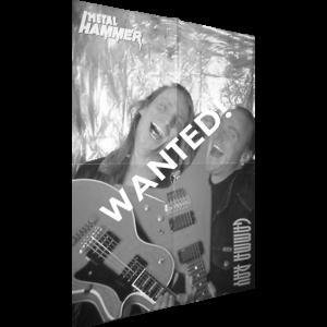 WANTED: Dirk & Kai Poster – Metal Hammer Magazine.