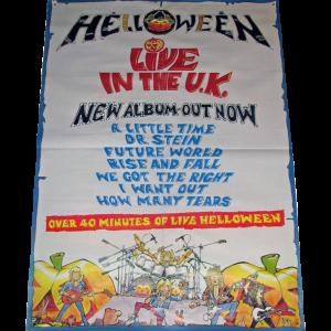 Live In The U.K. – Promo Poster.
