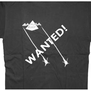 WANTED: Sigh No More – Tour 1991 – T-shirt.