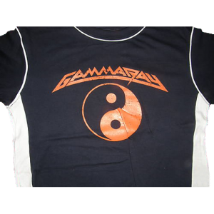 WANTED: Gamma Ray T-Shirt With Band Logo.