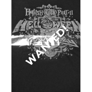 WANTED: Hellish Rock Tour – Part II – T-shirt.
