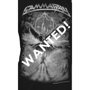 WANTED: T-Shirt – To The Metal – South American Tour 2010.
