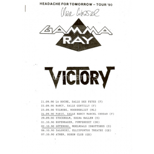 Headache For Tomorrow – Tour 90.