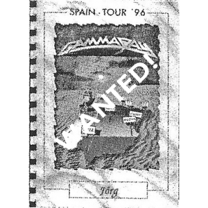 WANTED: Tourrider Spain – Tour 1996.