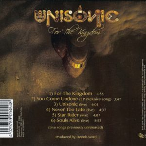 2014 – For The Kingdom – Mini Cd Album.