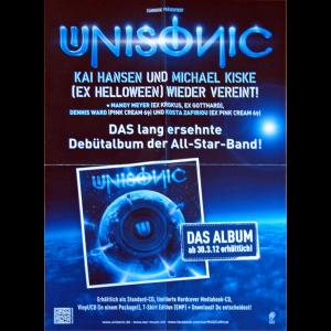 Unisonic Promo Poster.