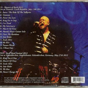 2012 – Unisonic – Flies Eternally – Bootleg – 1Cd & 1Dvd.