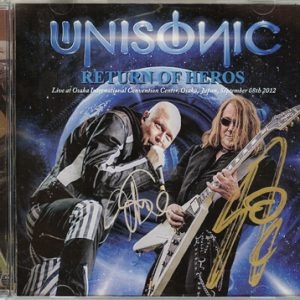 2012 – Unisonic – Return Of Heros – Bootleg – 2Cd.