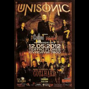 Unisonic Flyer – Argentina – 12.05.2012.