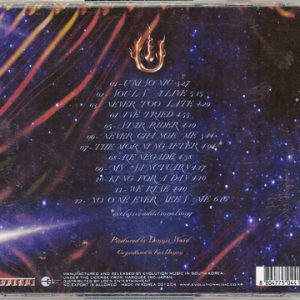 2012 – Unisonic – Cd – Korea.