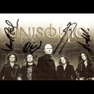 Unisonic – Promo Cards.
