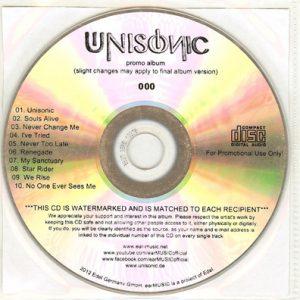 2012 – Unisonic – Promo Cd.