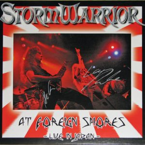 2007 – Stormwarrior – At Foreign Shores – Live In Japan – Lp.