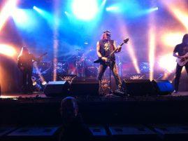 2011 Skeletons & Majesties Tour.