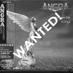 WANTED: 1993 – Angra – Angels Cry – Cd.