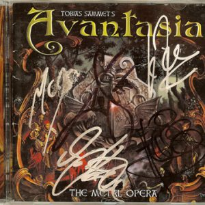 2001 – Avantasia – The Metal Opera – Cd.