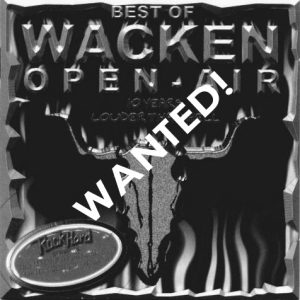 WANTED: 1999 – Best Of Wacken Open Air – 2Cd.