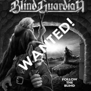 WANTED: 1989 – Blind Guardian – Follow The Blind – Cd.