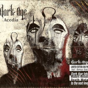 2009 – Dark Age – Acedia – Cd.