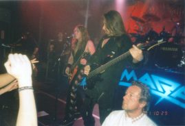 2001 No World Order Tour - Sweden - Gothenburg - 29 Oct.