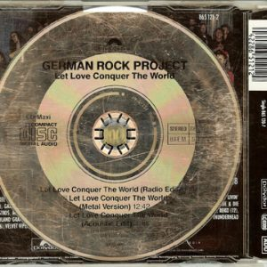 1991 – German Rock Project – Let Love Conquer The World – Maxi Cd.