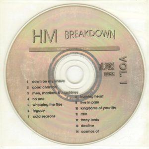 1997 – HM Breakdown Vol1 – Cd.