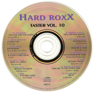 1999 – Hard Roxx – Taster Vol. 10 – Cd.