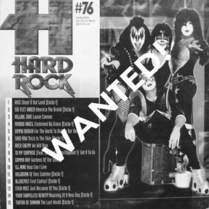 WANTED: 2003 – Hard Rock Nr 76 – Cd.
