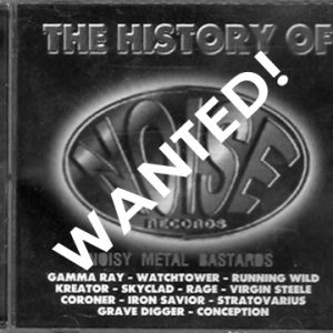 WANTED: 199? – The History Of Noise Records – Cd.
