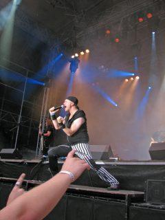 2012 Skogsröjet Festival 11 August, Sweden.