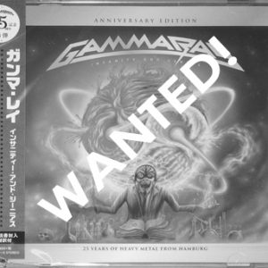WANTED: 2016 – Insanity And Genius (Anniversary Edition) – Japan 2Cd.