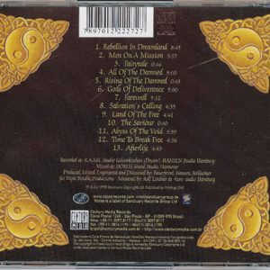 2002 – Land Of The Free – Cd – Brazil Edition.