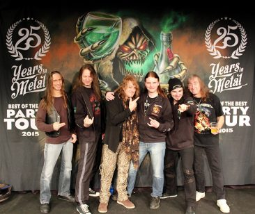 25 Years of Metal - Best of the Best Party Tour 2015 - Gothenburg 11/12.