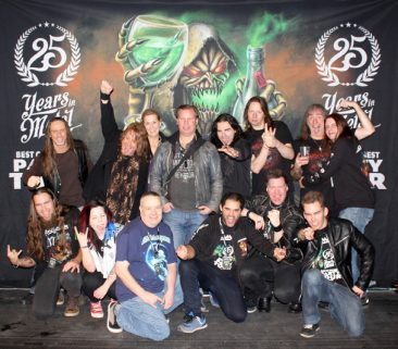25 Years of Metal - Best of the Best Party Tour 2015 - Stockholm 12/12.