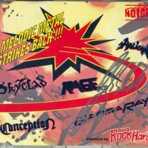 1993 – Melodic Metal Strikes Back!!! – Maxi Cd.