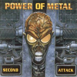 WANTED: 1998 – Power Of Metal – 2nd Attack – Cd.