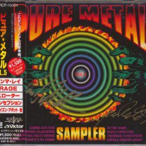 1995 – Pure Metal Sampler Vol.5 – Japan – Cd.